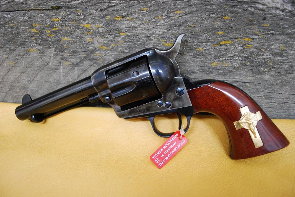 Cimarron Hand of God Holy Smoker 45 Colt Revolver | Idaho Gun Broker