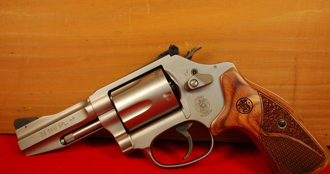 Smith & Wesson Model 60 38 Special +P Pro Series Revolver