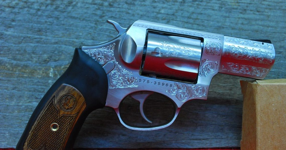 Ruger SP101 Deluxe Engraved Talo Exclusive .357 Mag Revolver