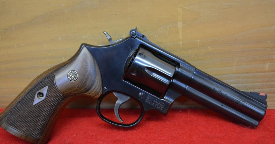 Smith Wesson Model 586 4 Blue 357 Magnum