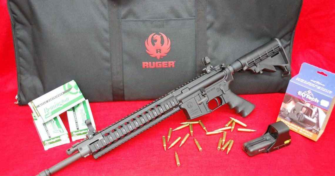 Ruger SR-556 FB Gas Piston Carbine