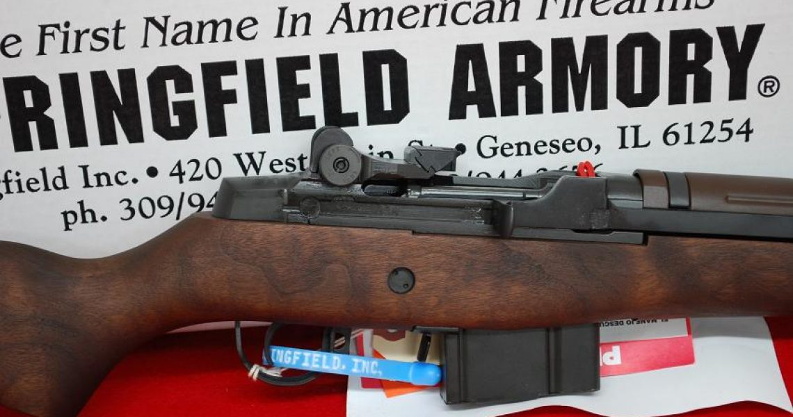 Springfield M1A Loaded 308 Blue Walnut