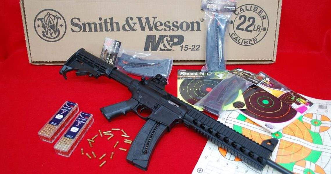 Smith & Wesson M&P 15-22 W. 25 Round Mag